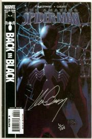 Amazing Spider-man #539 Dynamic Forces Signed Ron Garney DF Low COA Venom Marvel comic book